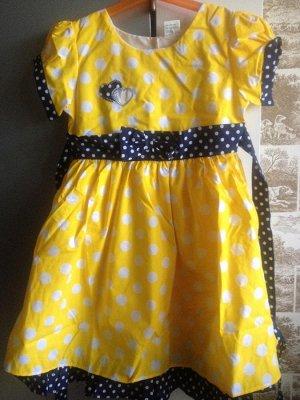 Платье в горох (цвета разные!)