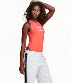 Спортивное боди H&M