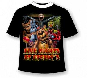 Подростковая футболка Five-nights-at-freddy's 476
