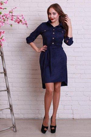 Платье замша (спандекс), 48 размер
