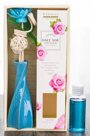 Ароматизатор  в виде букетика цветов в фигурной вазе