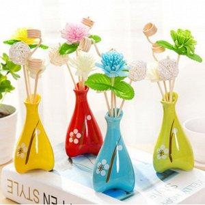 Ароматизатор в виде букетика цветов в вазе