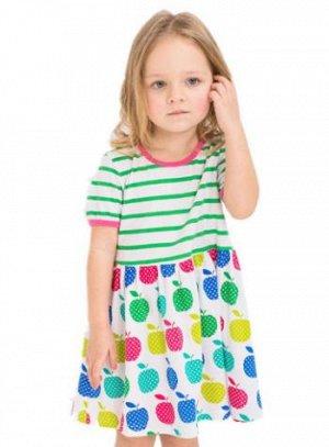 Платье Яблочки