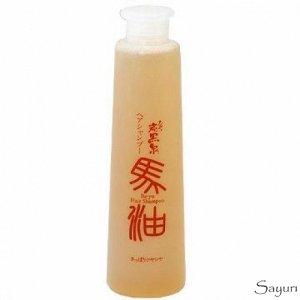 """002047 """"Fudo Kagaku"""" """"Ba-Yu"""" Восстанавливающий шампунь для волос на основе термальной воды с маслом японского кипариса 300мл 1/4"""