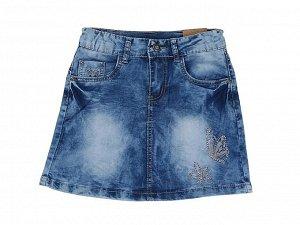 Юбка джинсовая для девочек марки Sweet berry