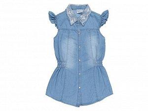 Блузка джинсовая для девочек
