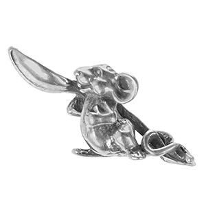Мышка с ложкой, олово в упак