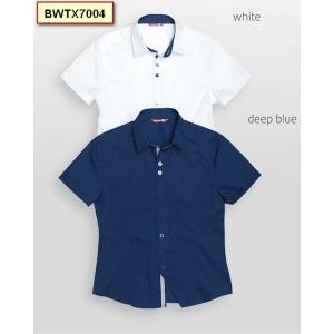 Белая рубашка на рост 116-118 см.