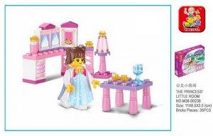 Конструктор для девочек мелкий, аналог Лего Френдс