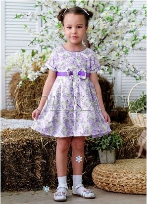 Милое платье для маленьких принцесс