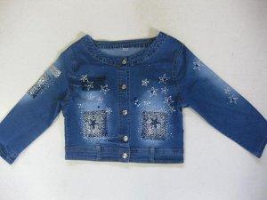 Куртка 133214-8 джинс