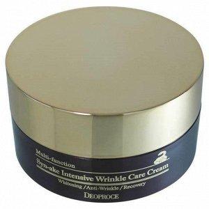 Deoproce Крем с пептидами змеиного яда Syn-Ake Intensive Wrinkle Care Cream