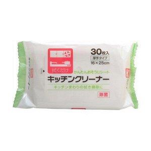 Влажные салфетки для уборки на кухне 30 шт.