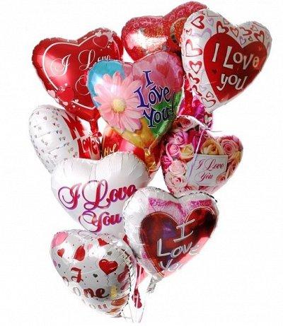 Много нужного для себя, дома, рукоделия, хобби-22. Наличие!  — Фольгированные шары в форме сердца — Праздники