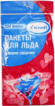 Пакеты для льда KOMFI 224 ячейки