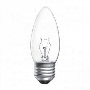 Лампа накаливания свеча ДС-230 60Вт Е27