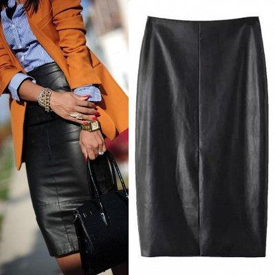 Ультралегкие куртки — Юбки PU кожа