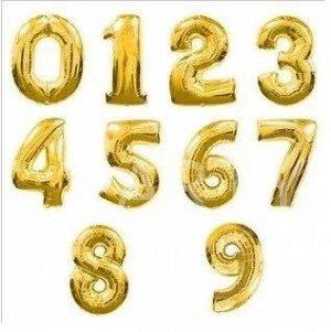 Надувная цифра 0