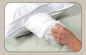 Подушка Ткань чехла:100 % натуральное эвкалиптовое волокно. Наполнитель: лебяжий пух.  Уникальная чудо мембрана Miracle Membrane распределяет тепло, защищает от пылевых клещей и клопов, отлично пропус