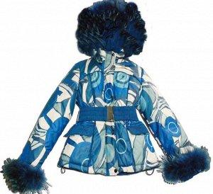 Зимняя куртка для девочки Борн