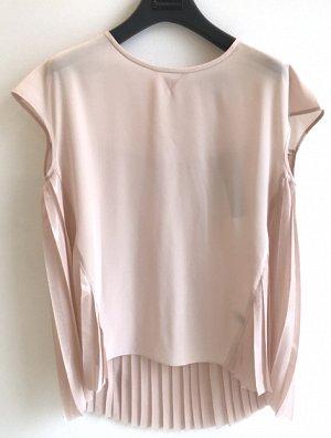Шелковая блуза Karl lagerfeld