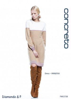Красивое платье из шерсти