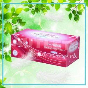 Бумажные розовые двухслойные салфетки ELLEMOI 180 шт (1 пачка)