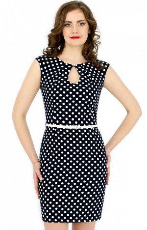 Платье в горошек на 42-44р-р