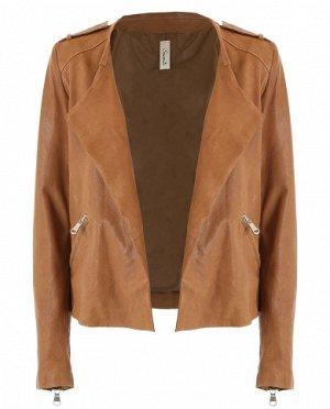 Куртка, кожа, Италия , цена подарок