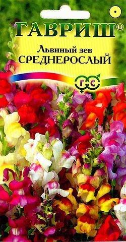 Антирринум (Львиный зев) Среднерослый*, смесь 0,1 г
