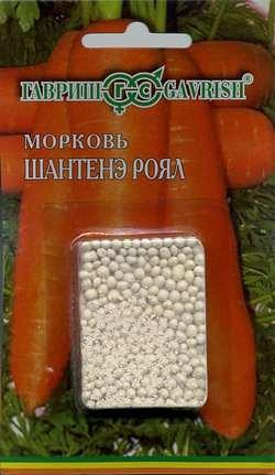 Морковь гранулир. Шантенэ Роял 300 шт. гель