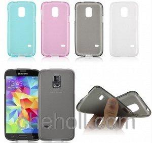 Чехол силикон цветной с заглушками Samsung Galaxy Note 3