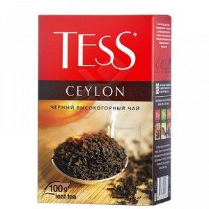 Чай Тесс Ceylon black tea, 100г