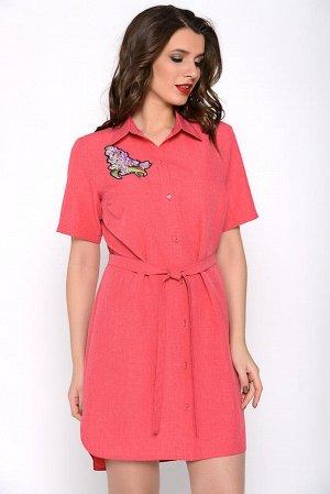 Платье-рубашка 52 - 54 размер