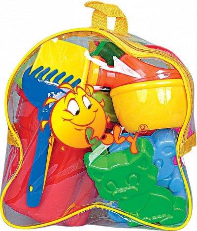 Полесье. Любимые игрушки из пластика. Успеем до повышения — Для игры в песок — Спортивные игры