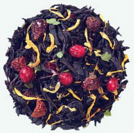 Черный чай «Ягодная поляна»