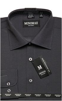 Рубашка Рубашка в мелку полосу, длинный рукав.  Хлопок 90%, ПЭ 10%