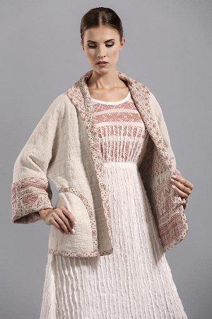 Куртка женская (с орнаментом+карманы)
