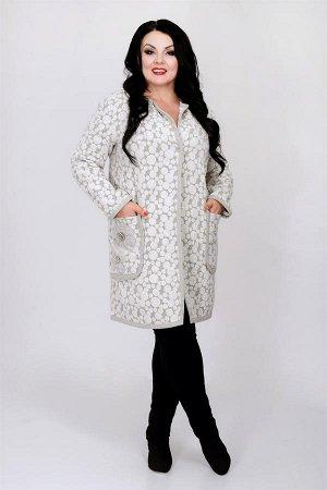 Пальто женское (горох)
