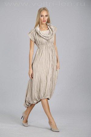 Льняное платье р. 46-48
