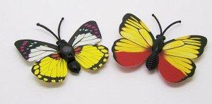 Бабочки с магнитом