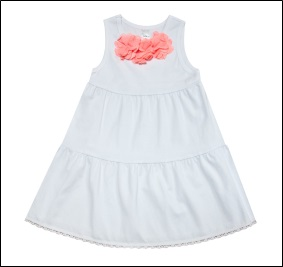 Белый Сарафан для девочек