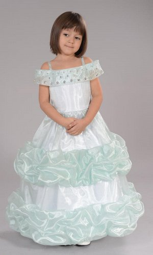 платье св.бирюза