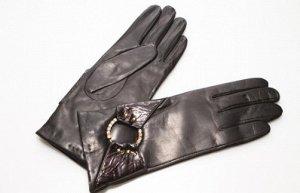 Перчатки, натуральная кожа.