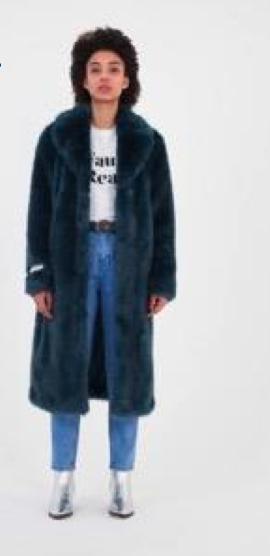 Меховое пальто (шуба) Jakke искусственная