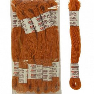 Нитки для вышивания Riolis (полушерсть), 20м, Нитки для вышивания Riolis (полушерсть), 20м, цвет 826