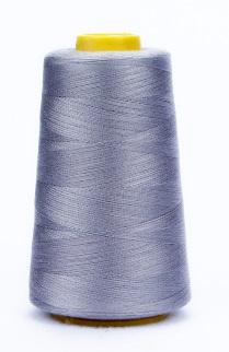 Светло-серые нитки для швейной машинки, 4 шт, толщина средняя, полиэстер