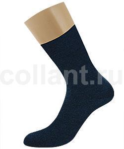 Зимние мужские носки из меланжевой пряжи