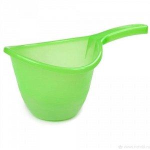 Ковш 1,5л Ковш 1,5л [PRESTIG] КИВИ. Небольшой, но необходимый в хозяйстве ковшик Prestige объемом 1,5 литра выполнен в нескольких цветовых вариантах. Отличается округлым, эргономичным дизайном чаши и
