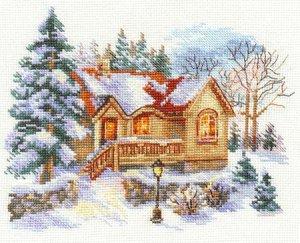 Февральский домик